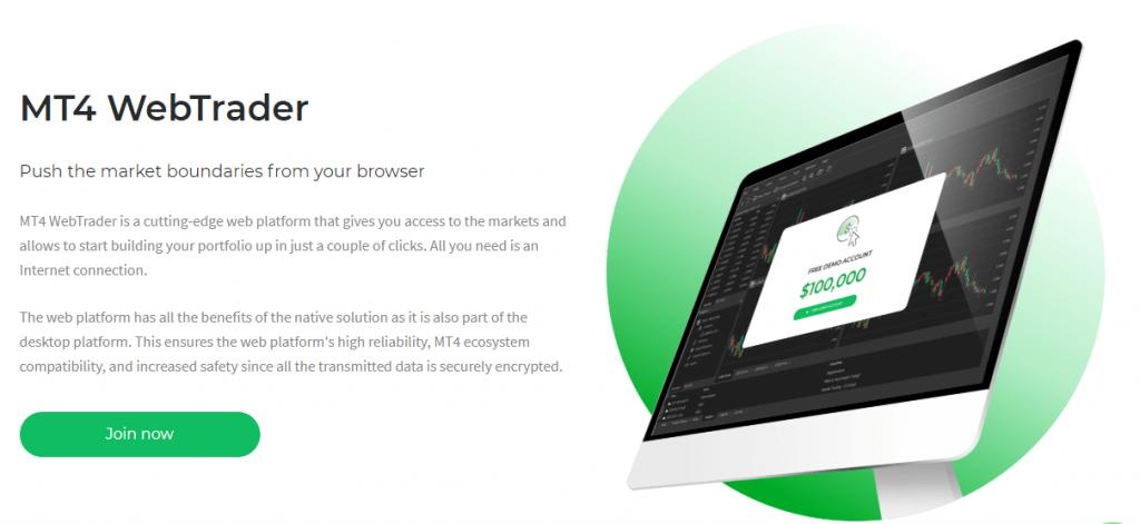 2Invest MT4 webtrader