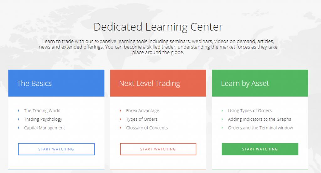 Oinevst learning center