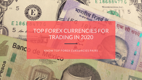 Top forex currencies for trading in 2020