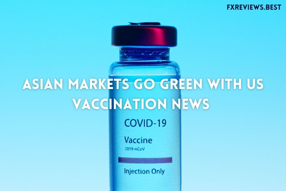 Asian markets go green with US vaccination news