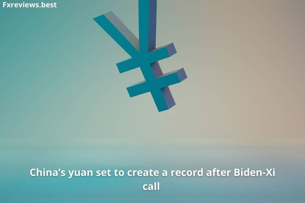China's yuan set to create are a record after Biden-Xi call