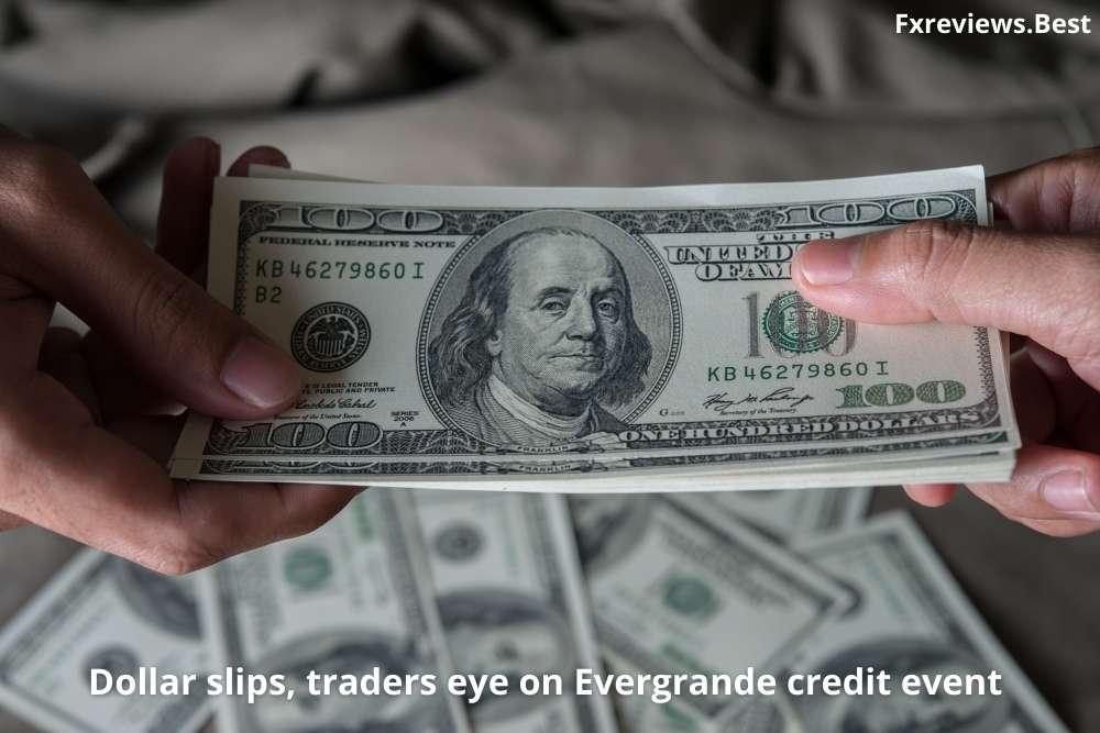 Dollar slips