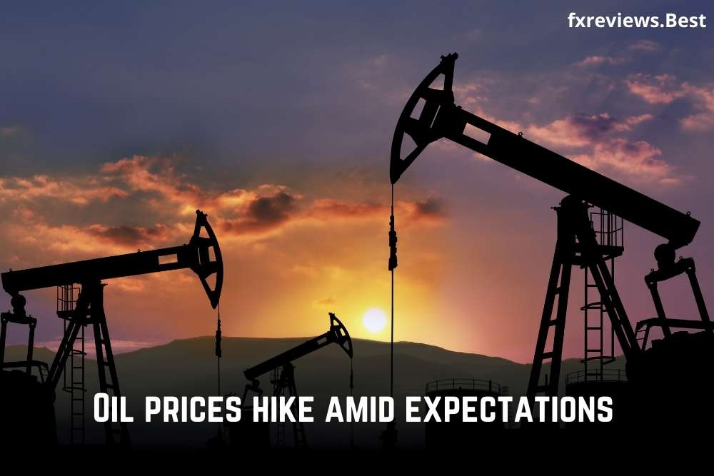 Oil prices hike amid expectations